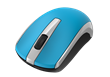 MOUSE GENIUS ECO-8100 WIRELESS BLUE RECARGABLE