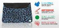 FUNDA P/NET 10` BAGS ANIMAL PRINT AZUL