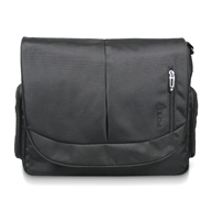 MALETIN PORT MESSENGER BLACK 15.6
