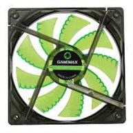 FAN GAMEMAX P/ GABINETE 120MM GREEN 4 LEDS
