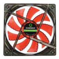 FAN GAMEMAX P/ GABINETE 120MM RED 4 LEDS
