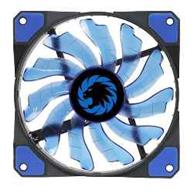 FAN GAMEMAX P/ GABINETE 120MM BLUE 15 LEDS
