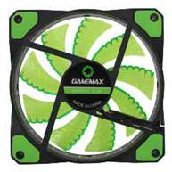 FAN GAMEMAX P/ GABINETE 120MM GREEN 32 LEDS