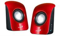 PARLANTES GENIUS SP-U115 ROJO USB POWER