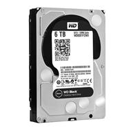 HD 6TB WESTERN DIGITAL BLACK 3.5 SATA 7200 256MB