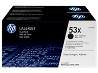 TWIN PACK HP (53X) Q7553X X2